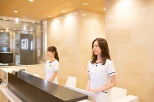 医療法人社団 栄美会の受付/レセプション